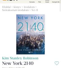 Eladó 2140 New york c. Könyv