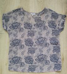 Vintage rózsás blúz