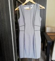 H&M szürke business look ruha