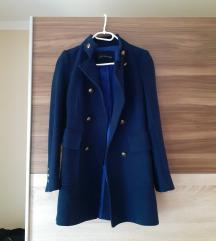 Sötétkék Zara kabát