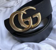 Arany színű Gucci öv