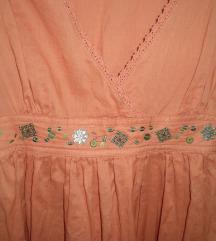 Új, gyönyörű lazac színű Sisley ruha AKCIÓ