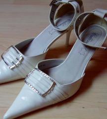 Fehér női alkalmi cipő ( pumps)