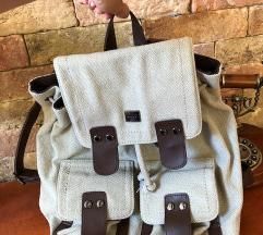 Liu jo táska hátitáska túratáska vászon hátizsák