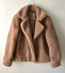 Boohoo teddy coat