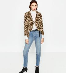 Zara leopard kabát