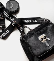 Fekete Karl táska retikül