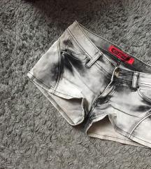 rövid nadrág, szürke