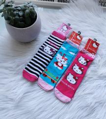 3pár Hello Kitty zokni Új 34-40 🎀