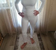 Új, cimkés fehér női gyönyörű overál S/M