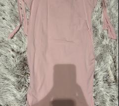 Púder rózsaszín ruha