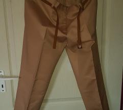Új 40 Zara bézs elegáns nadrág