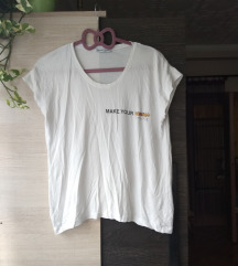 Zara feliratos póló