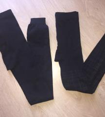 Lábfej nélküli vastag thermo harisnya nadrág