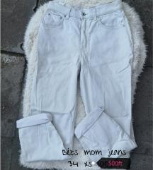 Bezs mom jeans