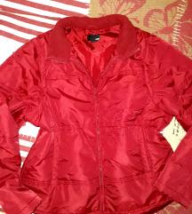 Hibàtlan piros h&m dzseki L/XL