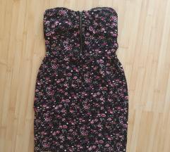 Virágos mini ruha