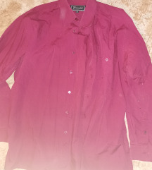 41-es bordó novelle férfi ing
