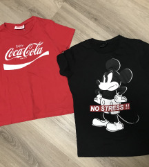 Mickey és Coca-Cola pólók