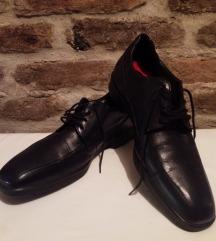 Férfi GYÖNYÖRŰ bőr cipő (UK6.5/39.5)