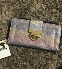 Mickey Mouse csillogós pénztárca