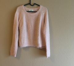 Rózsaszín fluffy pulcsi