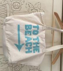 Strandtáska vászon táska