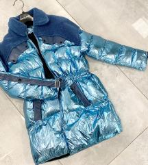 Türkizkék kabát ❗️új❗️