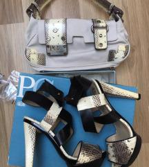 Paco Gil női cipő-táska szett
