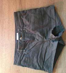 h&m khaki short