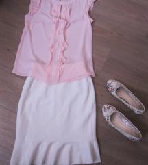 Új H&M fehér szoknya 36