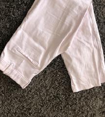h&m nude babarózsaszín business nadrág nyári