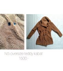 Oversize hosszú teddy kabát /PK az árban!