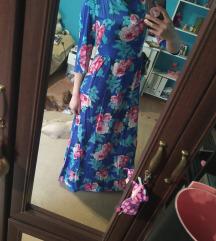 Női virágos ruha