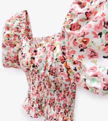 Zara új virágos felső 😍🌸💗 xs