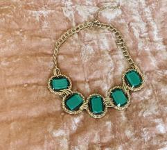 Uj! Smaragdzold diva nyakek Zara