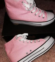 Rózsaszín platform tornacipő Új!!