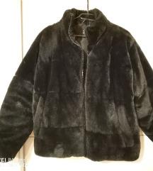 Zara női téli szőrme kabát
