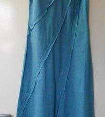 S - Kék vászonruha, nyári ruha