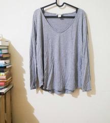 H&M szürke hosszúujjú, L