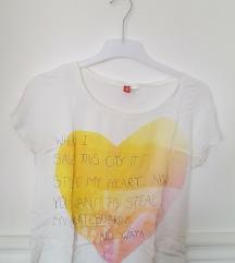 H&M feliratos póló