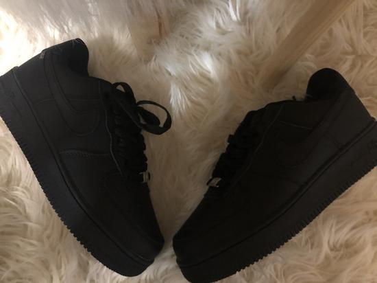 Fekete Nike air force 1