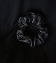 Bőr scrunchie