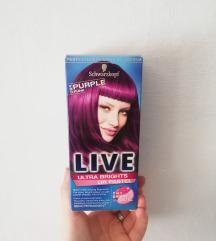 Schwarzkopf Live Purple Hajfesték.