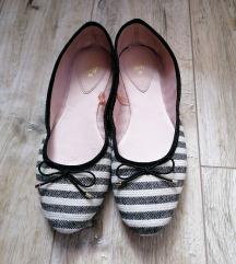 H&M csíkos balerina