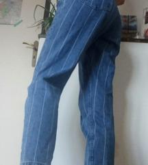 Csíkos Mom Jeans