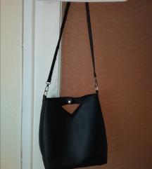 Crossbody fekete női táska