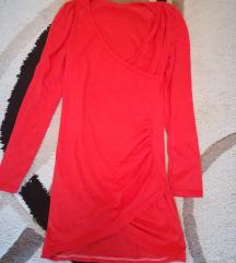 Piros S méretű miniruha