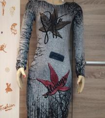 Hosszúujjúnői ruha S/M