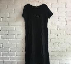 Zara oldalt felvágott fekete felső
